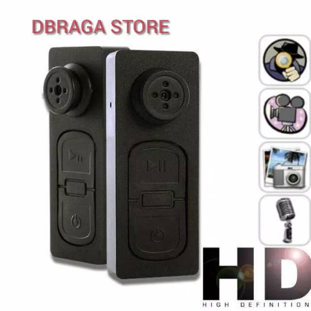 CAMERA KANCING BAJU / BUTTON SPY Mini Kecil Cam 1080 P Sensor Penglihatan Malam